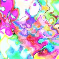 Funky Watercolor Background Effect vector