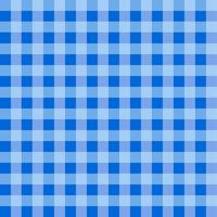 Blue Gingham Tablecloth Pattern vector