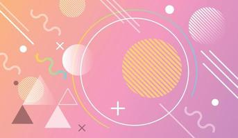 Modern abstract geometric background vector