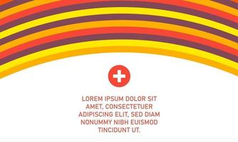 Abstract Colorful Curved Lines Background vector