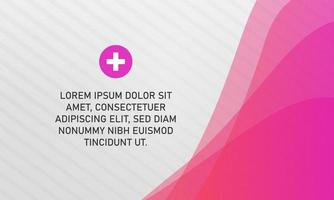 Abstract Pink and White Business Presentation Background vector