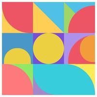 minimalist poster style vector