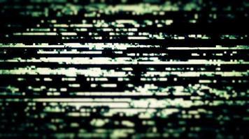 perte de données de télévision numérique - boucle video