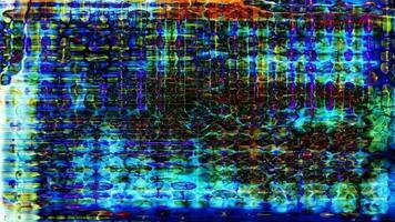 astrazione dello schermo tecnologia digitale futuristica - ciclo video
