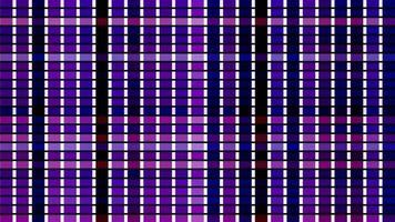 une formation de grille alterne et se déplace - boucle video