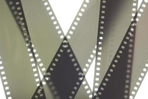 Blurry image of 35mm photographic film photo
