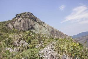 Vista de la pista de piedra de Cuca en Petrópolis foto