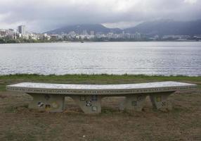 Rodrigo de Freitas Lake rio de janeiro photo