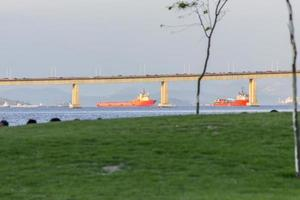 vista del museo del mañana en río de janeiro foto