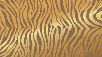 Luxury Gold animal skin background vector. Exotic animal skin with golden texture. Leopard skin, zebra and tiger skin vector illustration.