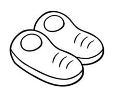 Cartoon Vector Illustration of Shoe