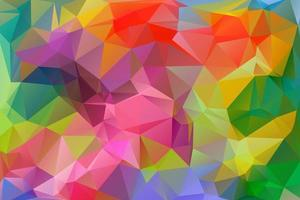Colorful Polygonal Background. vector