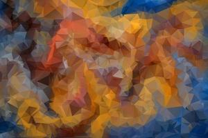 Background Low Poly. Triangular Polygon Pattern. vector