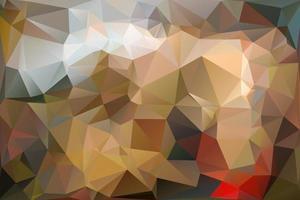 polygonal background design vector