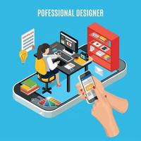 Graphic Design Concept Vector Illustration