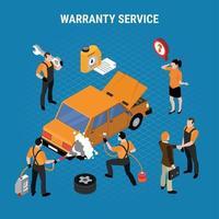 Warranty Service Concept Vector Illustration