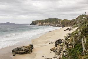 View of beaches of cold cape in rio de janeiro photo