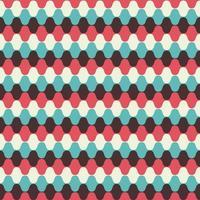 Hypnotic Seamless Pattern Background vector