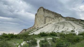 Wiew of The White Rock in The Crimea video