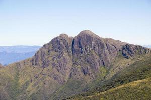 view of the Marins x Itaguare trail in the Mantiqueira mountain range photo