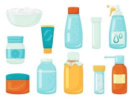 Collection of Various Medicants vector