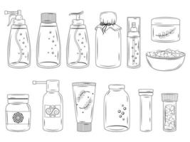 Collection of Various Medications vector