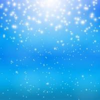Star Sky Vector Illustration Background