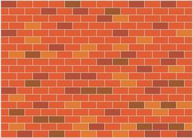 Brown brick wall background vector wallpaper