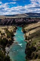 Flathead River leading to Kerr Dam. Polson, Montana, United States photo