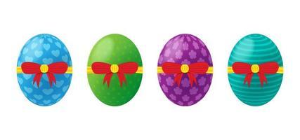 Vector illustration of 3D realistic Easter egg