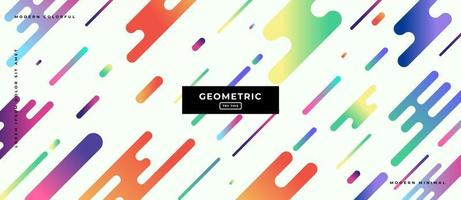 Geometric Shapes Background. vector