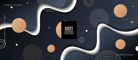 Geometric Shapes Background.. vector