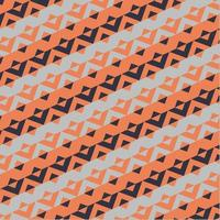 Triangles And Stripes Pattern vector