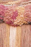 hilos de macramé lana foto