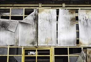 Metal panels steel photo