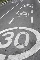 Speed signs traffic photo