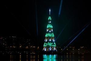 inauguración del árbol de navidad de la laguna rodrigo de freitas foto