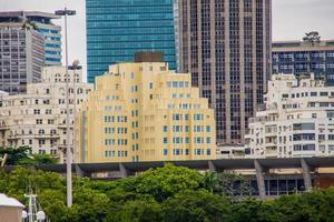 edificios del centro de la ciudad de río de janeiro foto