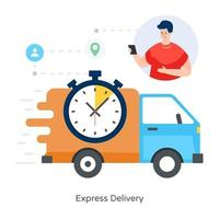 Delivery on Time vector