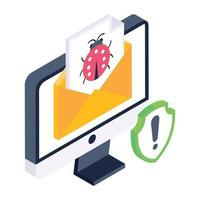 Email and Message Virus vector