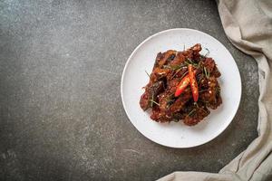 Stir Fried Catfish with Chili Paste photo