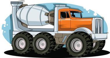 classic truck illustration vector