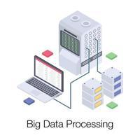 Big Data Processing vector
