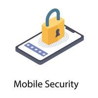 Online Security Concepts vector