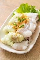 kow griep pag mor o paquetes de arroz al vapor de cerdo foto