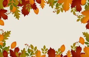 Fall Season Background vector