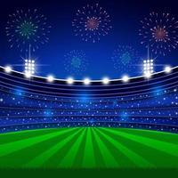 Magnificent Stadium Building vector
