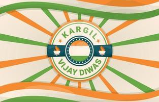 Kargil Vijay Diwas Background vector