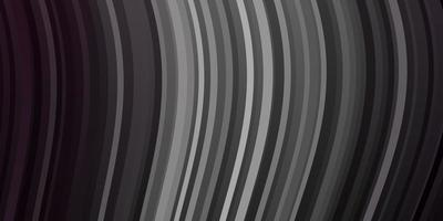Dark Gray vector template with lines.
