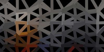 diseño poligonal geométrico vector amarillo oscuro.
